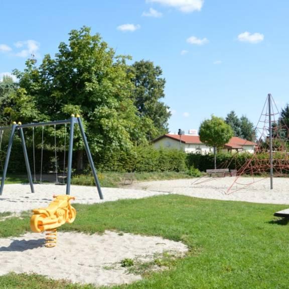 Spielplatz im Ortsteil Kändler in Limbach-Oberfrohna