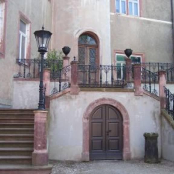 © 2005 - 2009 | www.limbach-oberfrohna.de | Freitreppe Schloss Wolkenburg ©Stadt Limbach-Oberfrohna
